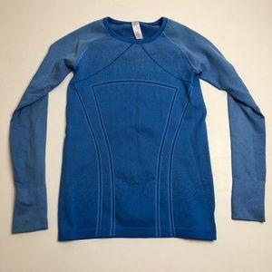Ivivva Blue Long Sleeve Girls Size 14 Shirt